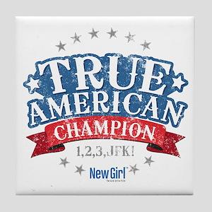 New Girl Champion Tile Coaster