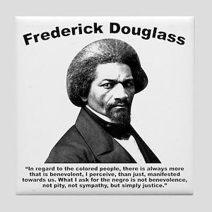 Douglass: Justice Tile Coaster
