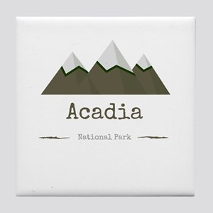 Acadia National Park Tile Coaster