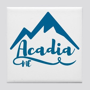 Acadia Maine Tile Coaster