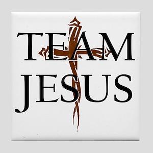 TeamJesus Tile Coaster