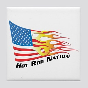 Nation Flag Tile Coaster