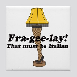 fragelee-Leg_Lamp Tile Coaster
