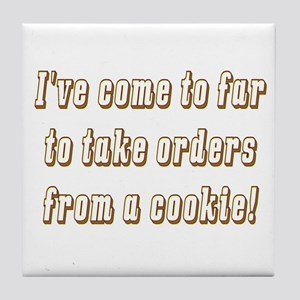 The cookie Tile Coaster