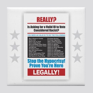 Voter ID Tile Coaster