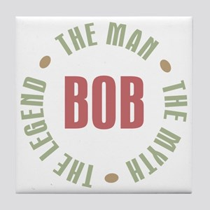 Bob Man Myth Legend Tile Coaster