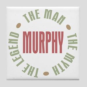 Murphy Man Myth Legend Tile Coaster