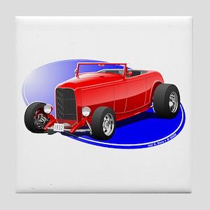 Classic Hot Rod Tile Coaster