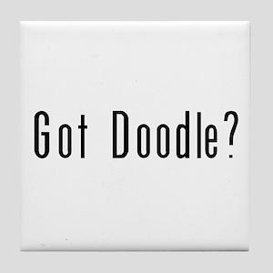 Got Doodle? Tile Coaster