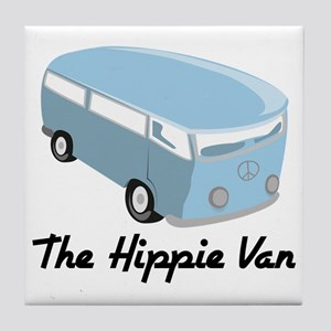The Hippie Van Tile Coaster