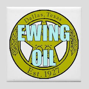 Ewting Oil Tile Coaster