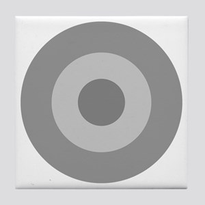 Greece - Ghost Grey Tile Coaster