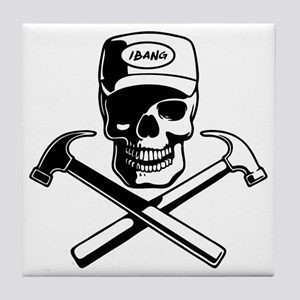 carpenter-pirate-T Tile Coaster