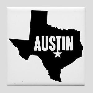 Austin, TX Tile Coaster