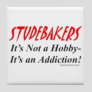 Studebaker Addiction Tile Coaster
