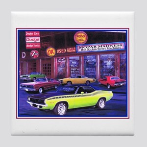 Mopar Madness Car Dealer Tile Coaster