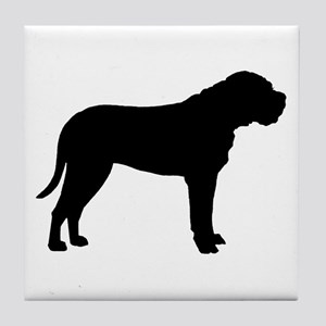 Bullmastiff Dog Breed Tile Coaster