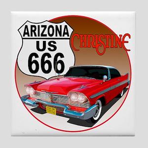 666-AZ-Christine-C10trans Tile Coaster