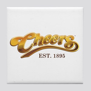 Cheers Est. 1895 Tile Coaster