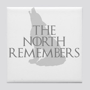 North Remembers Tile Coaster