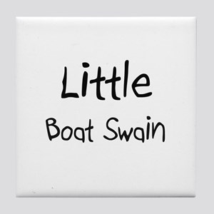 Little Boat Swain Tile Coaster
