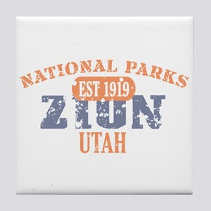 Zion National Park Utah Tile Coaster