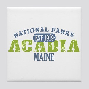 Acadia National Park Maine Tile Coaster