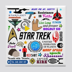 Trekkie Memories Tile Coaster