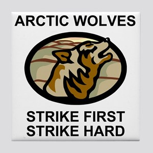 Army-172nd-Stryker-Bde-Arctic-Wolves- Tile Coaster