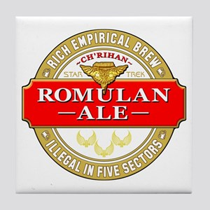 STAR TREK: Romulan Ale Tile Coaster