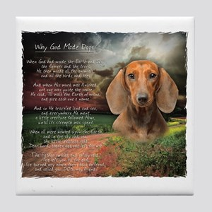 godmadedogs Tile Coaster