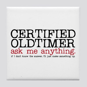 Certified Oldtimer Tile Coaster
