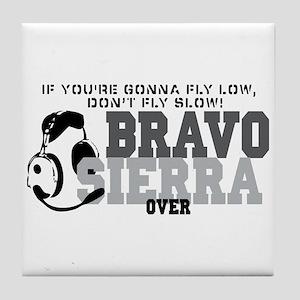 Bravo Sierra Avaition Humor Tile Coaster
