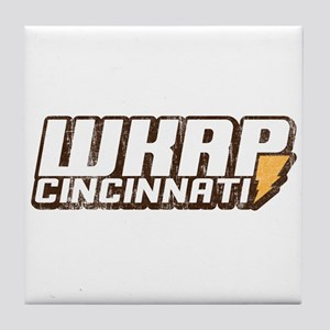 wkrp in cincinnati Tile Coaster