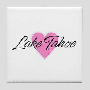 I Heart Lake Tahoe Tile Coaster