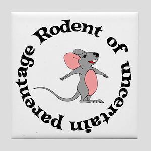 Rat Bastard Tile Coaster