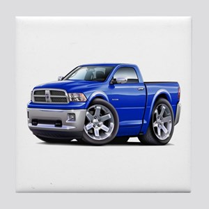 Ram Blue Truck Tile Coaster