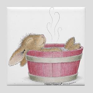 HappyHoppers® - Bunny - Tile Coaster