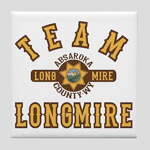 Team Longmire Tile Coaster