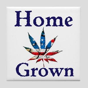 Home Grown Tile Coaster