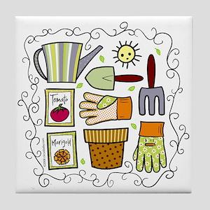 Gardeners' Supplies Tile Coaster