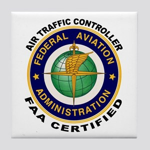 Air Traffic Controller Tile Coaster