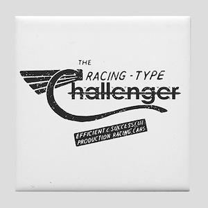 Challenger Vintage Tile Coaster