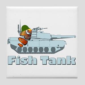 Fish Tank Tile Coaster