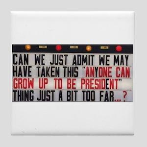 Anyone can Tile Coaster