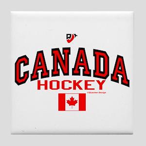 CA(CAN) Canada Hockey Tile Coaster
