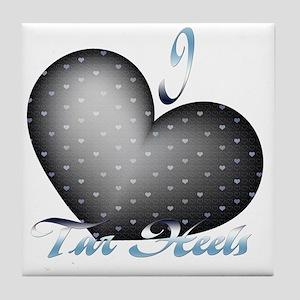 Tar-Heels Tile Coaster
