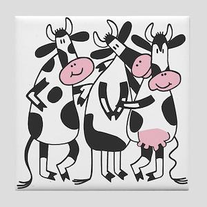 3 Cows Tile Coaster