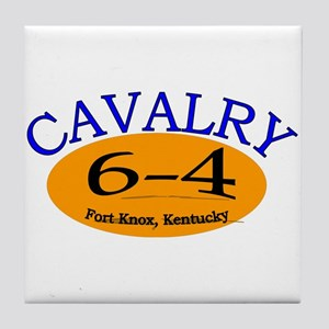 6th Squadron 4th Cavalry Tile Coaster