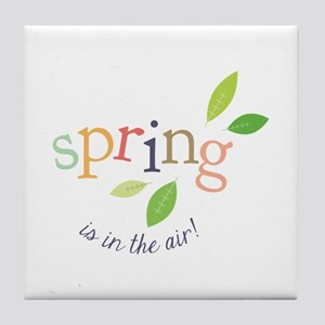 Spring In The Air Tile Coaster